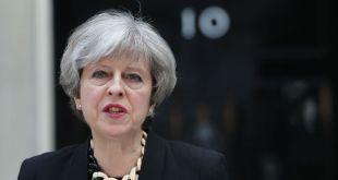 Theresa May ávarpar þjóðina eftir hryðjuverkin í London.