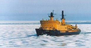 Ísbrjóturinn Arktika sem fór á pólinn 1977.