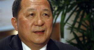 Ri Yong Ho utanríkisráðherra.