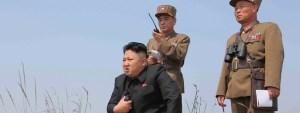 Kim Jong-un, harðstjóri N-Kóreu.