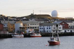 Ratsjárstöðin við Vardø.