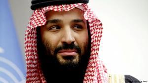 Mohammed bin Salman (32 ára), krónprins Sádí-Arabíu .