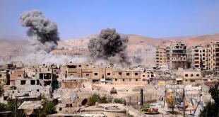Myndin er frá Austur-Ghouta.