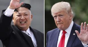 Kim Jong-un og Donald Trump