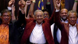 Mahathir Mohamad, forsætisráðherra Malasíu.