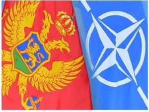 Fánar Svartfjallalands og NATO