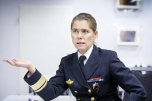 Norski flotaforinginn Louise Dedichen.