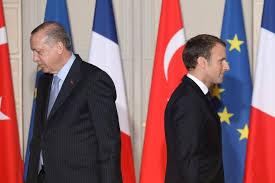 Erdogan og Macron