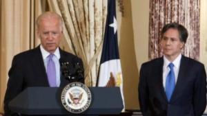 Joe Biden og Antony Blinken