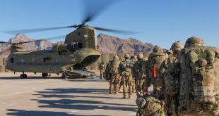 Bandarískir hermenn í Afganistan.