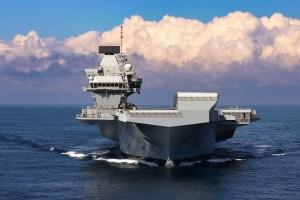 Flugmóðurslipið HMS Queen Elisabeth