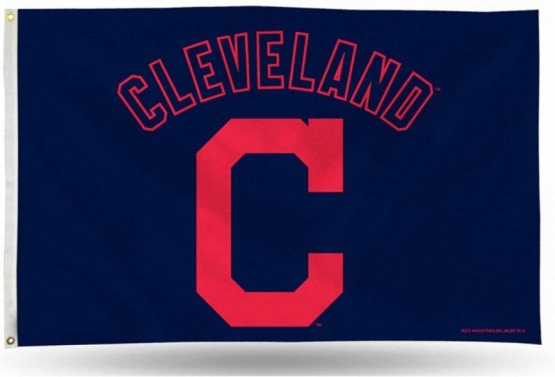 Indios de Cleveland logo provisional