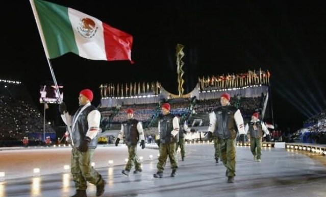Equipo mexicano de Bobsled en Juegos Olímpicos Invernales