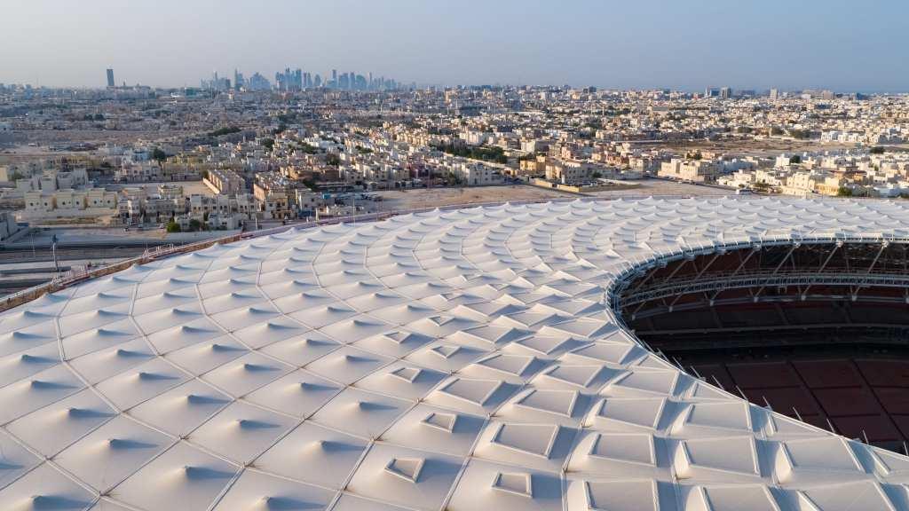 Estadio Al Thurama techo