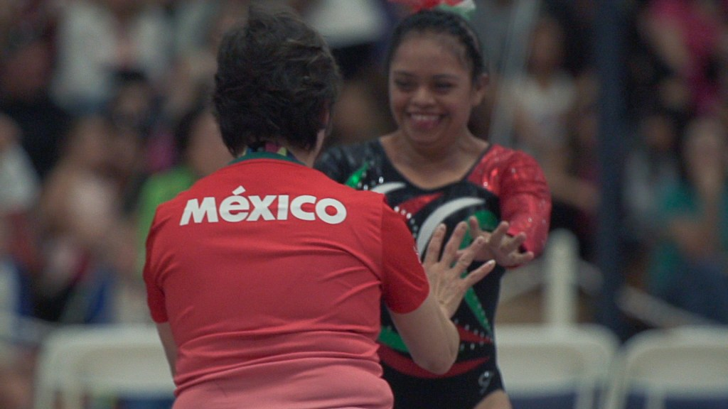 Special Olympics México gimnasia artística
