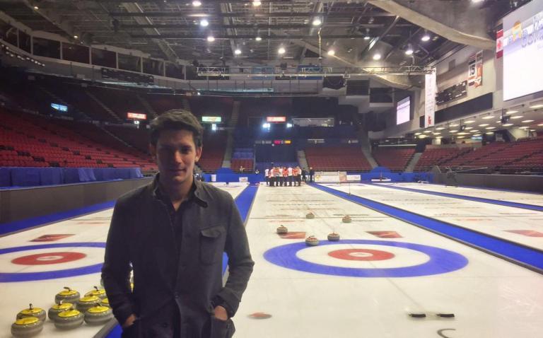 Rodrigo Velez presidente de la Federación Mexicana de Curling