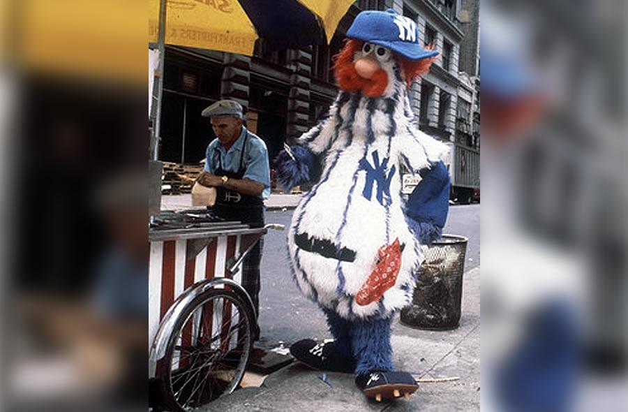 Dandy mascota de los Yankees