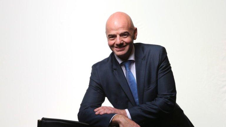 Gianni Infantino, presidente de la FIFA