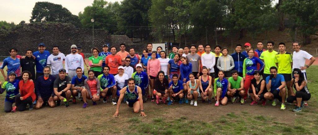 Club de corredores de Benjamín Paredes