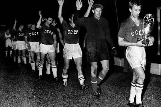 Rusia campeón Euro 1960