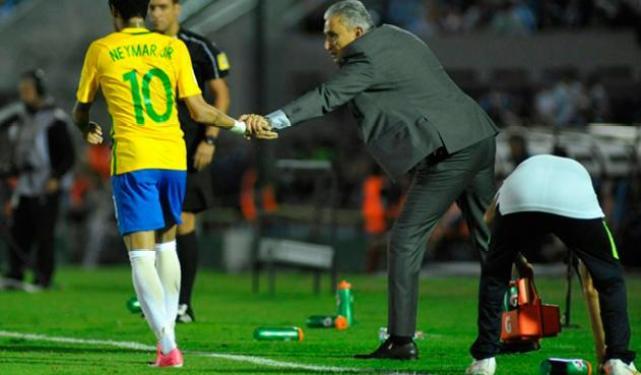 Neymar Tite Brasil