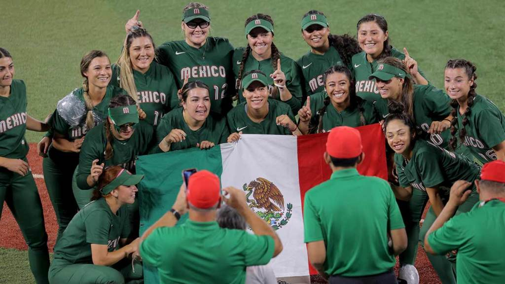 Softbol México uniformes