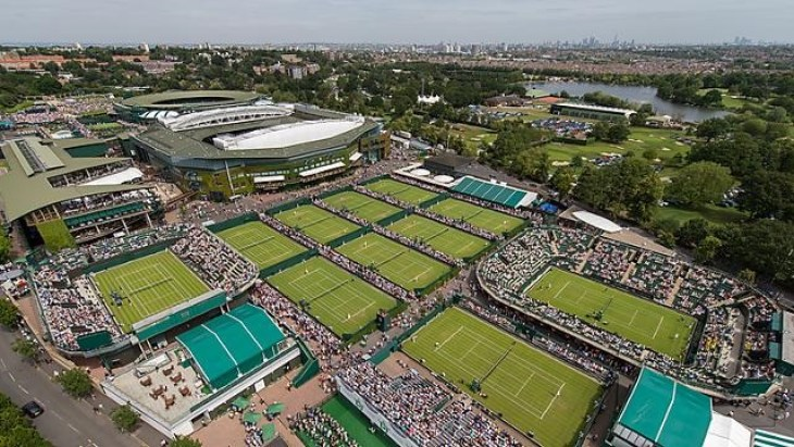 Wimbledon canchas