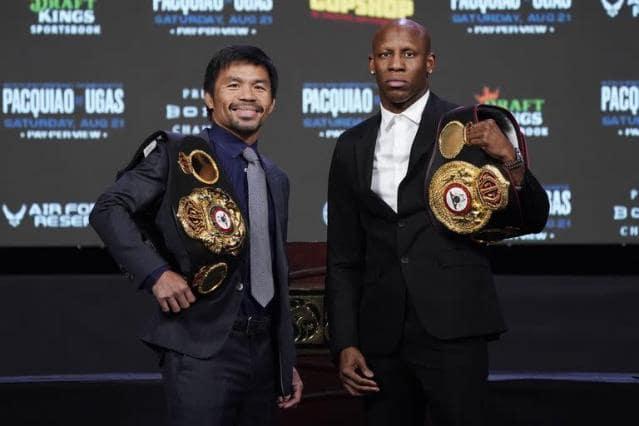 Manny Pacquiao Yordenis Ugás