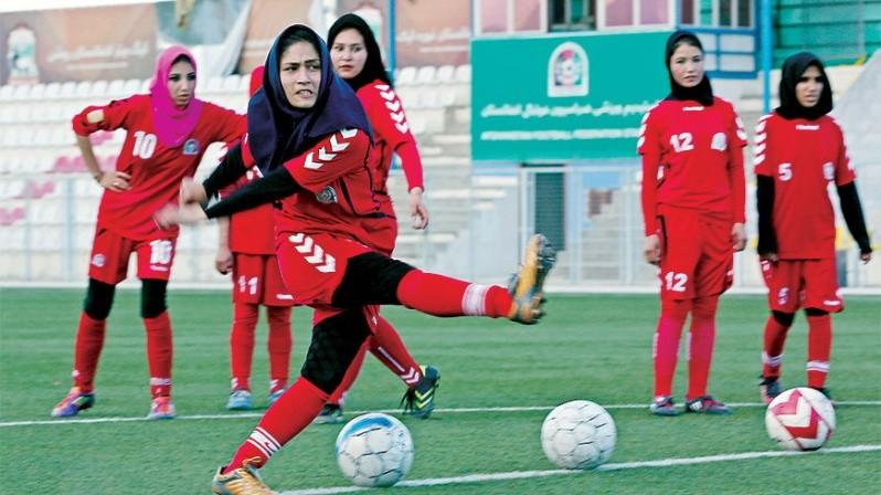 Selección femenil d futbol Afganistán