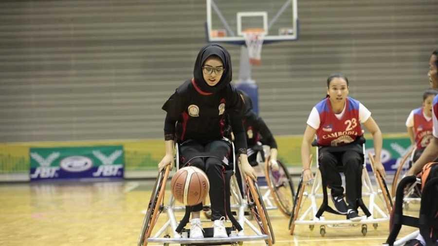 Nilofar Bayat, paralímpica Afganistán