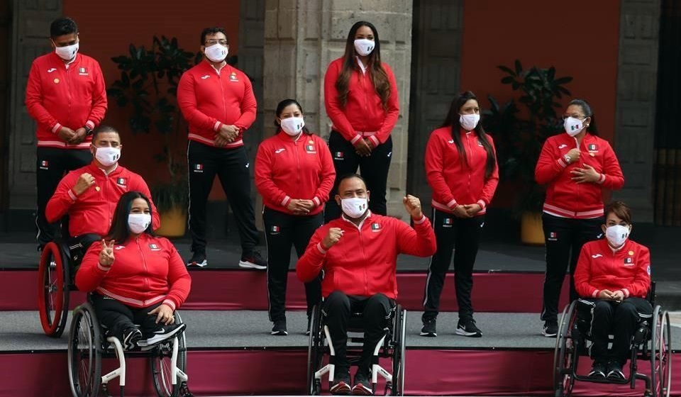 México, Paralímpicos Tokio 2020
