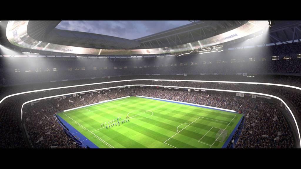 Cancha Santiago Bernabéu