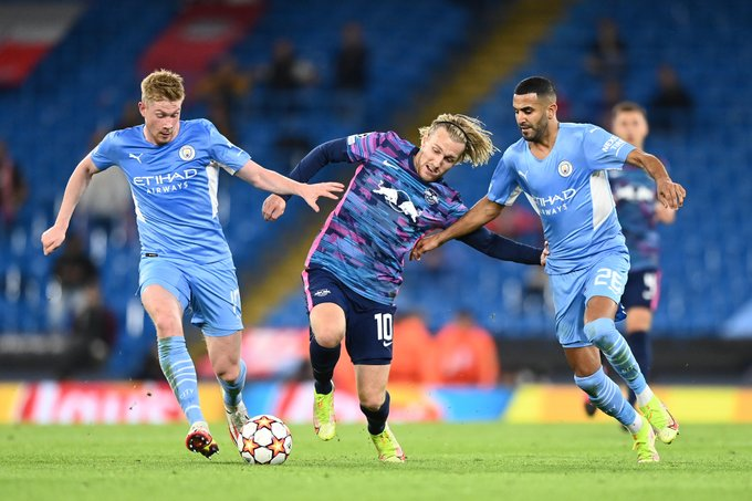 RB Leipzig Manchester City