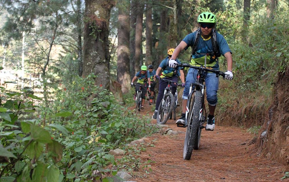 Ciclismo de montaña CDMX
