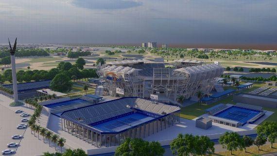 Abierto Mexicano de Tenis, Arena GNP