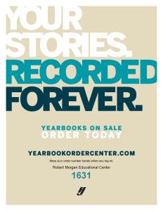 Yearbook Sales Flier
