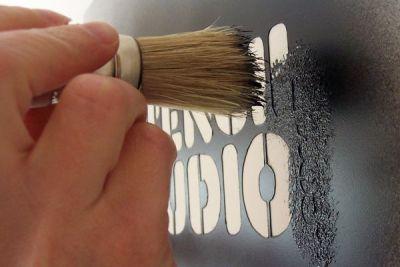 Pintando estarcido
