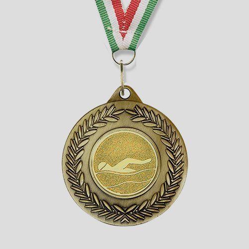 medalla natacion