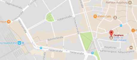 Zeughaus in Google Maps