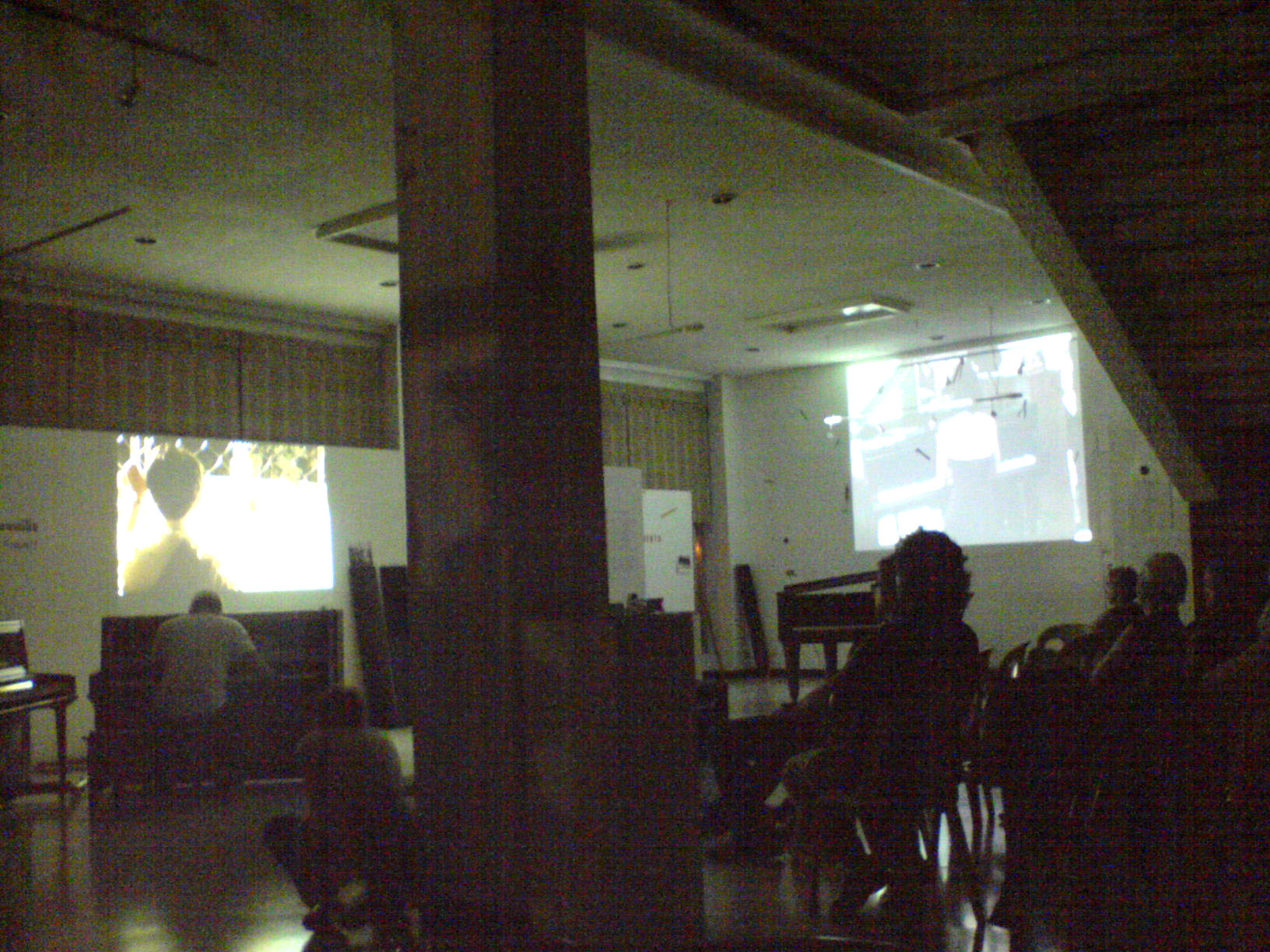 Film screening and music improv (In line with the Nicanor Abelardo Grand Piano Project)