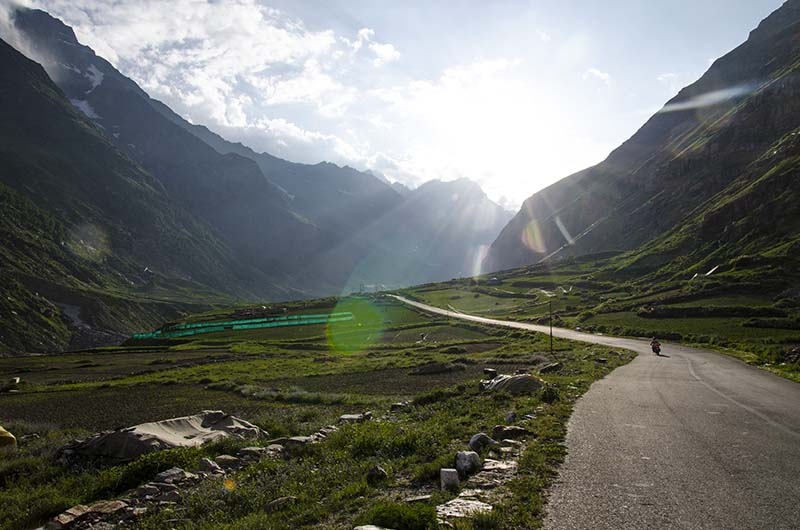 dangerous roads in India