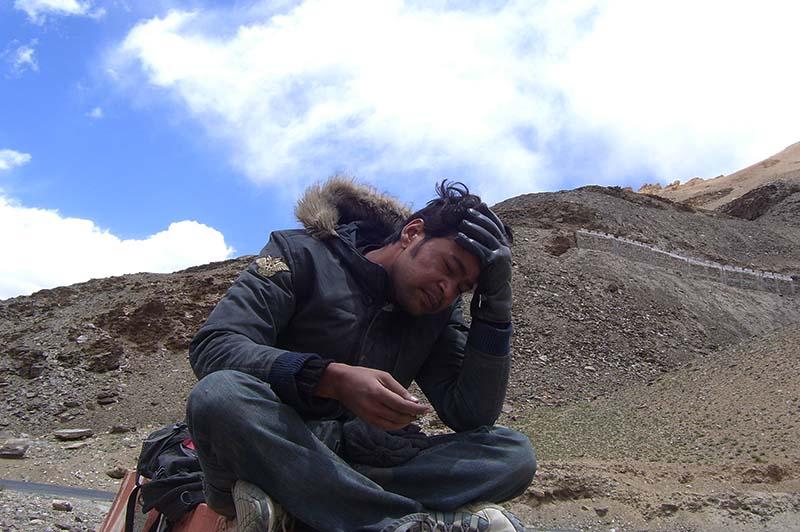 acute mountain sickness in spiti