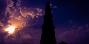 Sunrise at Qutub Minar