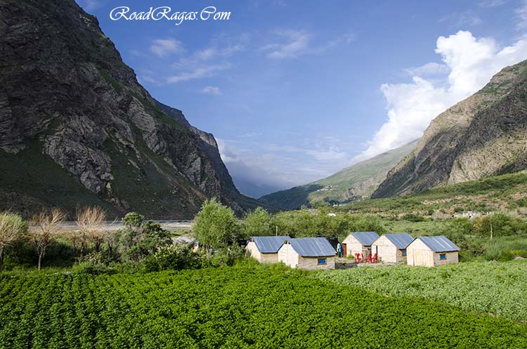 accommodation on manali leh highway