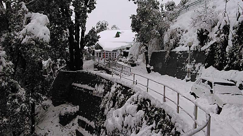 snowfall near delhi