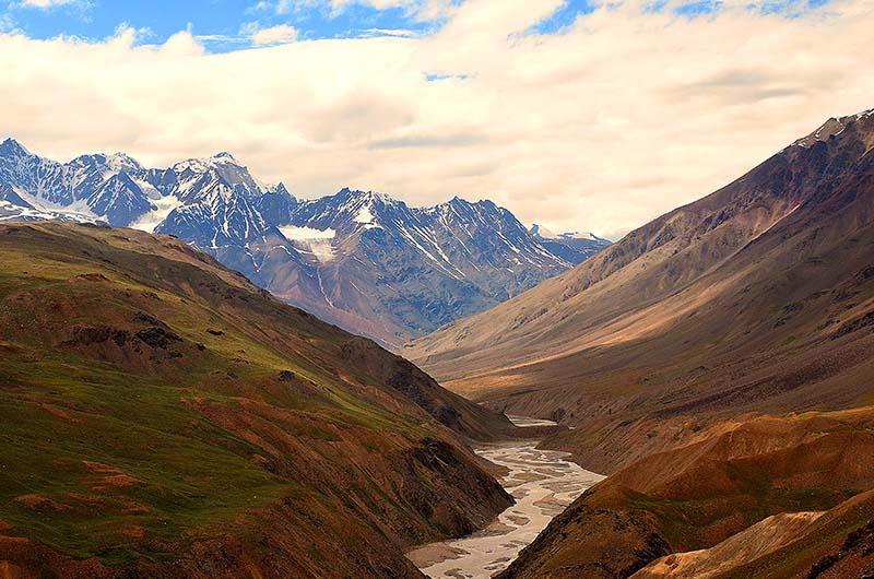 spiti valley in monsoon