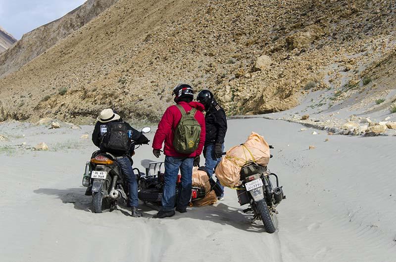 prepare your bike for ladakh