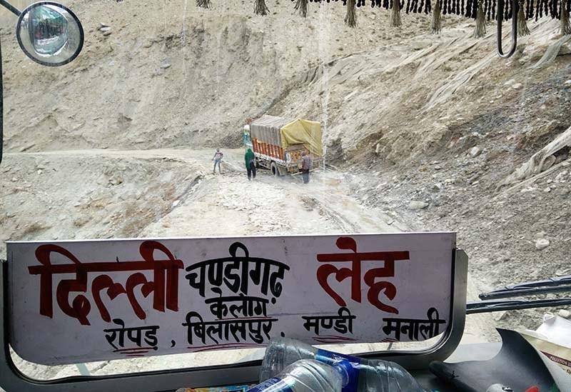 leh to delhi bus