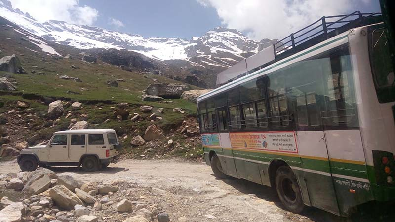 manali kaza road opens