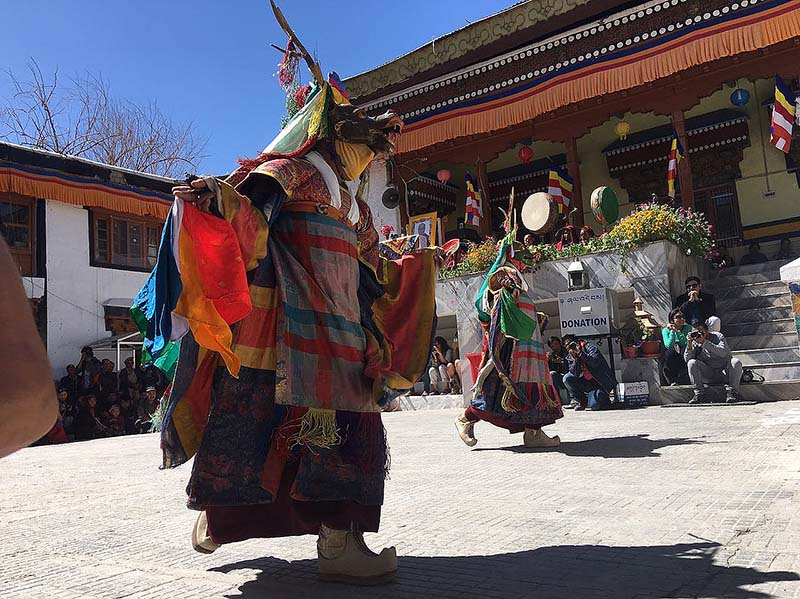 mask festival in ladakh
